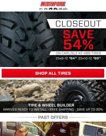 Carlisle AT-489 Tires, Save 54%!