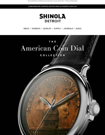 Introducing The Coin Dial Collection