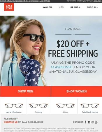 Glasses.com Newsletter