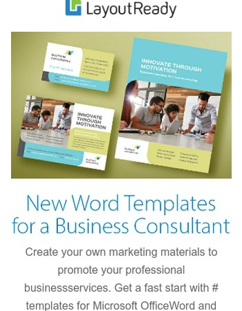 New Word Templates for a Business Consultant