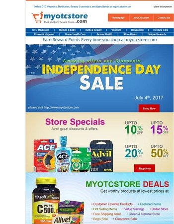 Up To 65% off - 4th of July Sale just got better!