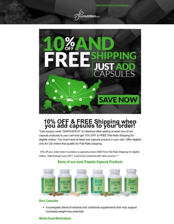 10% Off & Free Shipping!