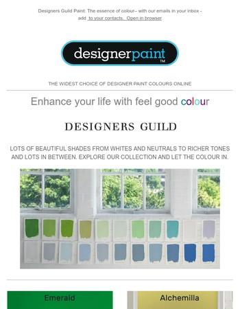 Designers Guild Paint splash