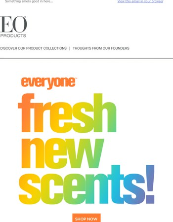 Introducing New Everyone Scents!