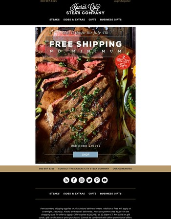 Don't Miss Our FREE Shipping Deal