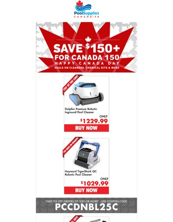 Exclusive Canada Day Savings + $150 in Coupons Just For You!