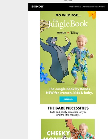 Go wild! The Jungle Book is HERE