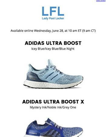 adidas Ultra Boost, Ultra Boost X, and Ultra Boost X Parley – available 6.28
