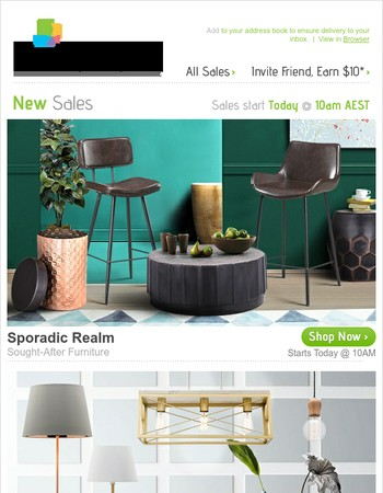 Sought-After Furniture, Astonishing Lamps & Pendants, Alluring Artificial Plants & Accessories