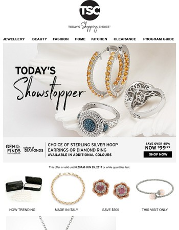 Today's Showstopper™ - Gem Finds & Colour of Diamonds