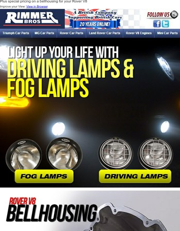 Light Up Your Life with Driving Lamps & Fog Lamps
