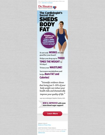 The secret that sheds body fat