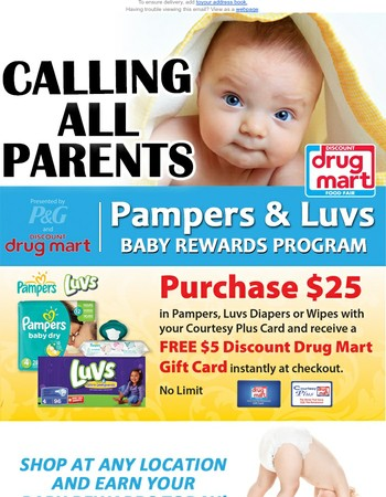 NEW - Baby Rewards Program!!