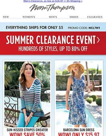 Savings that WOW! Dresses under $20 & more.