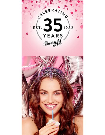 Barry M's Birthday Blowout!