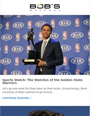 Bob's Daily: NBA Watches, Paul Newman's Daytona & More