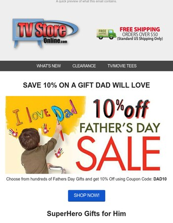 TV Store Online Newsletter