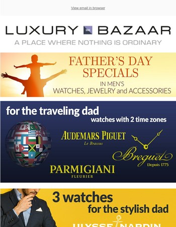 Take Advantage of these Exclusive Father's Day Specials