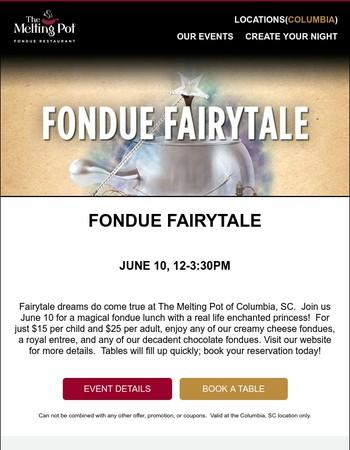 Fondue Fairytale