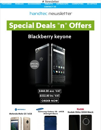 Special Offer on Blackberry Keyone and Many More !!!