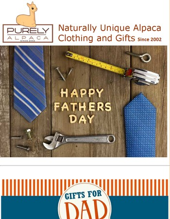Top Ten Alpaca Gifts for Father's Day