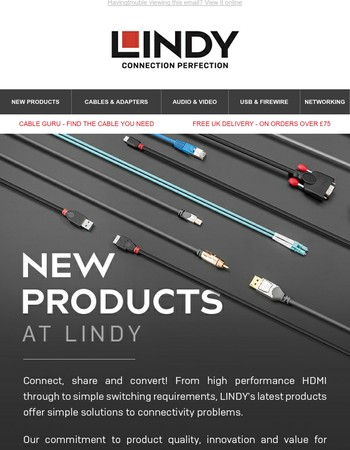 New Products at LINDY