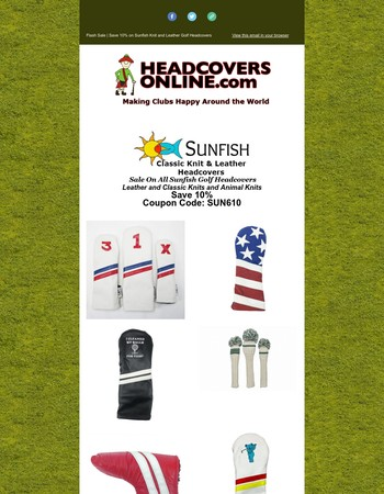 Trending Now | Save On Vintage Headcovers From Sunfish