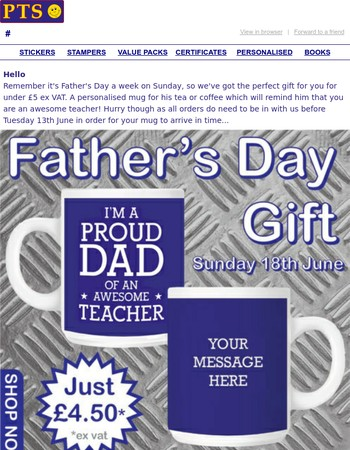 Father's Day Gift for Under £5...