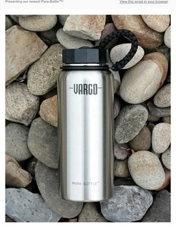 NEW! Stainless SteelPara-Bottle™