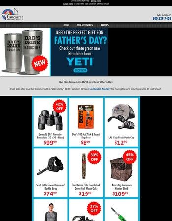Father's Day is June 18th!