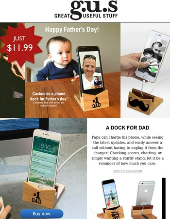 Give Dad a gift he will use and love! | and for only $11.99! | There's Still Time!