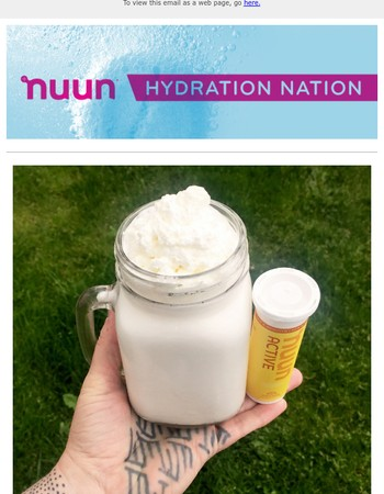 nuun creamsicles taste like summer!