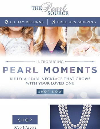 Announcing The Pearl Moments Collection from The Pearl Source
