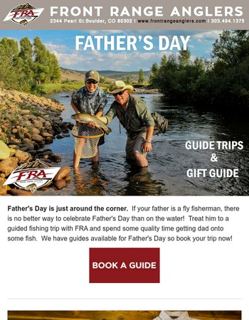Pops, Poles, and Pints: Celebrate Father's Day with FRA