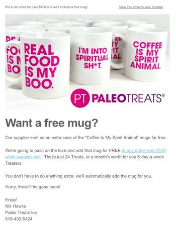 want a free mug?