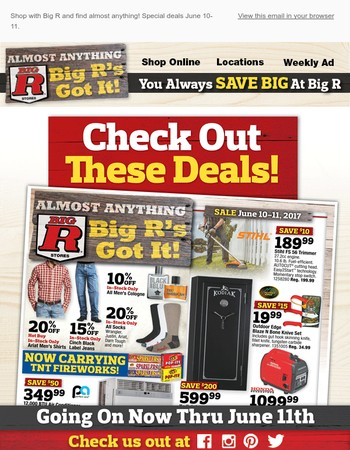 Save Big on Items for Dad, This Weekend Only!