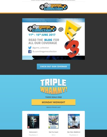 We'll be at E3 - tell us what you want to see ...
