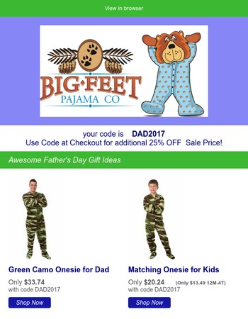 Re: Unique Father's Day Gift Ideas