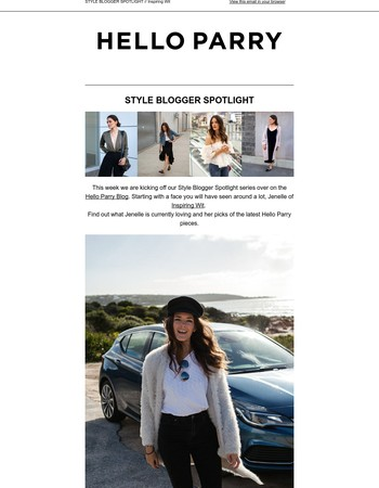 Meet some of our fave bloggers! Style Blogger Spotlight with Inspiring Wit
