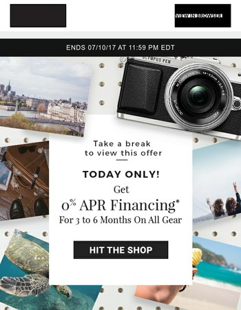 Shop Gear Without Your Wallet