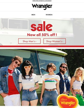 Join the Wrangler Community and discover our ongoing sale!