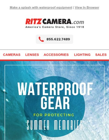 Summer Camera Update: Waterproof Gear