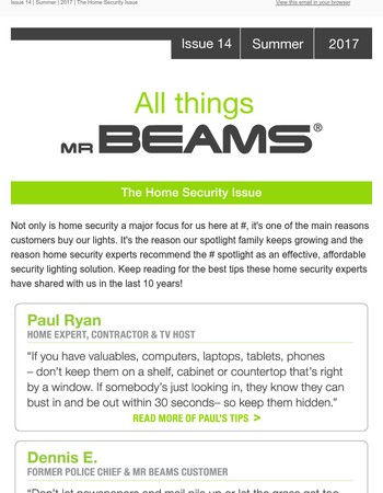 The Home Security Issue