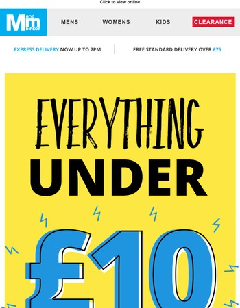 Everything under £10 – Jack & Jones, adidas, French Connection & more