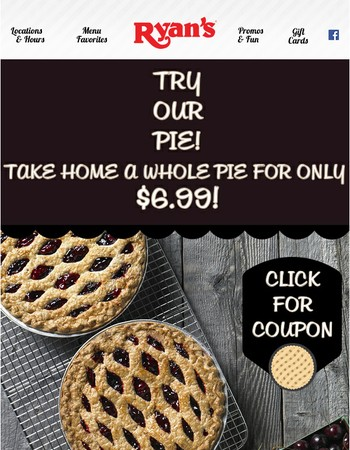 TRY OUR PIE!