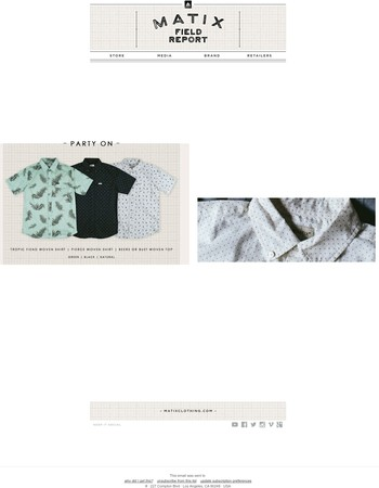 Summer Button Ups Sale - 15% off