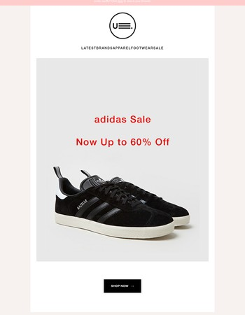 ADIDAS ー Now Up to 60% Off  / New Arrivals
