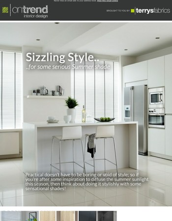 Sizzling Style - On Trend weekly ideas & inspirations for your home