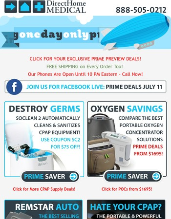 MaryExclusive PRIME Day Deals Preview: 100s of Discounts & Free Shipping!