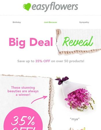 Limited Time! - Big Flower Deal Reveal